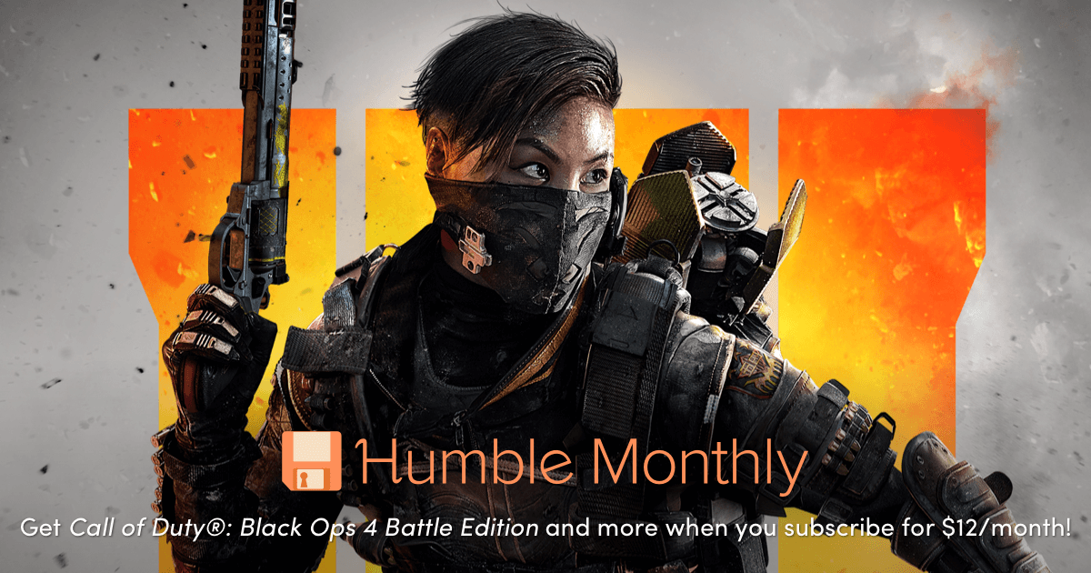 Humble Monthly Bundle de junio 2019