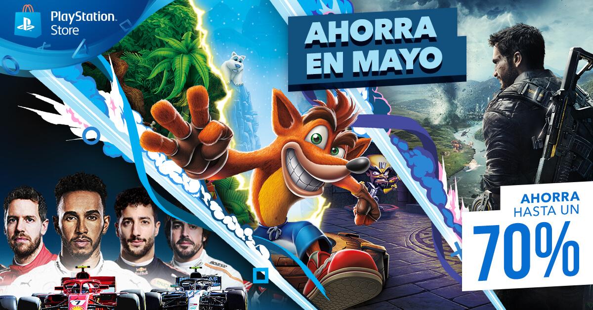 PlayStation Store Ofertas de Mayo 2019