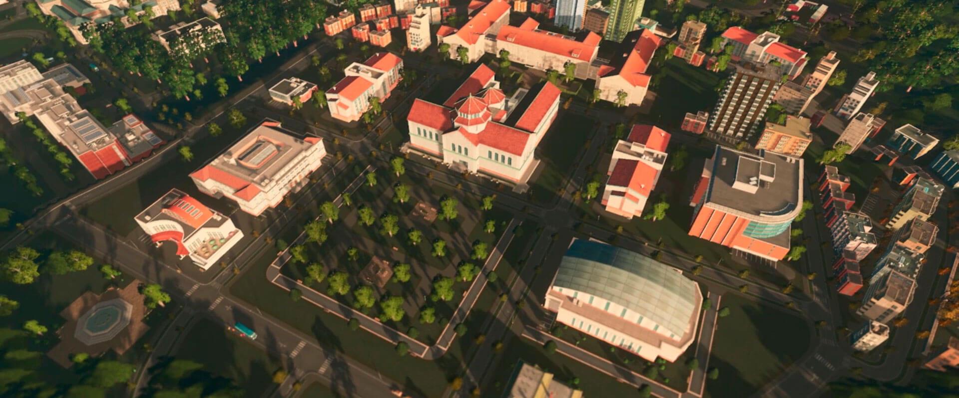 Cities Skylines Campus Análisis Texto 4