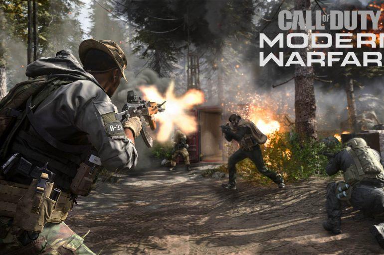 Call of Duty Modern Warfare Estreno MP