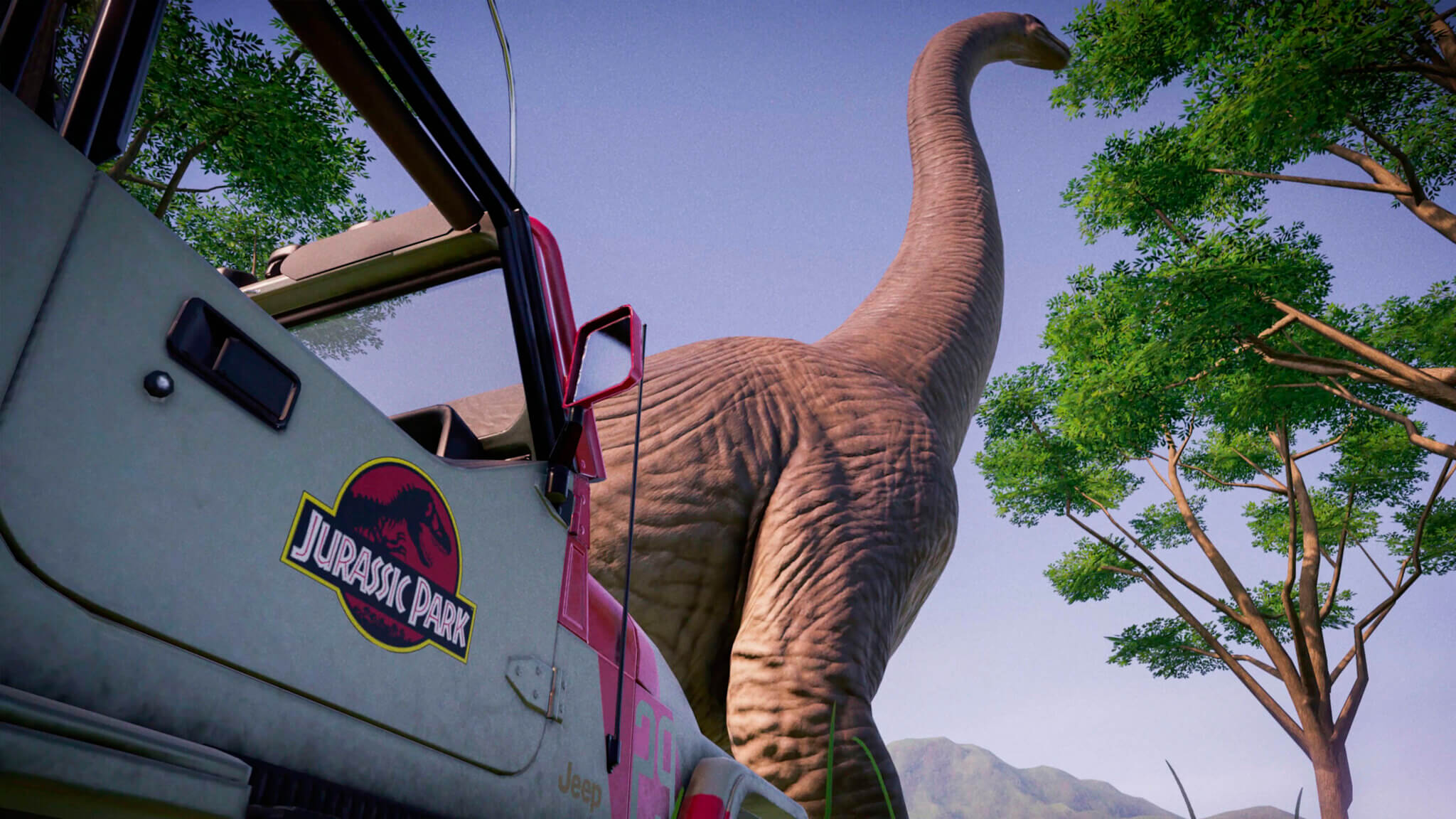 Jurassic World Evolution Return to Jurassic Park Anuncio 2
