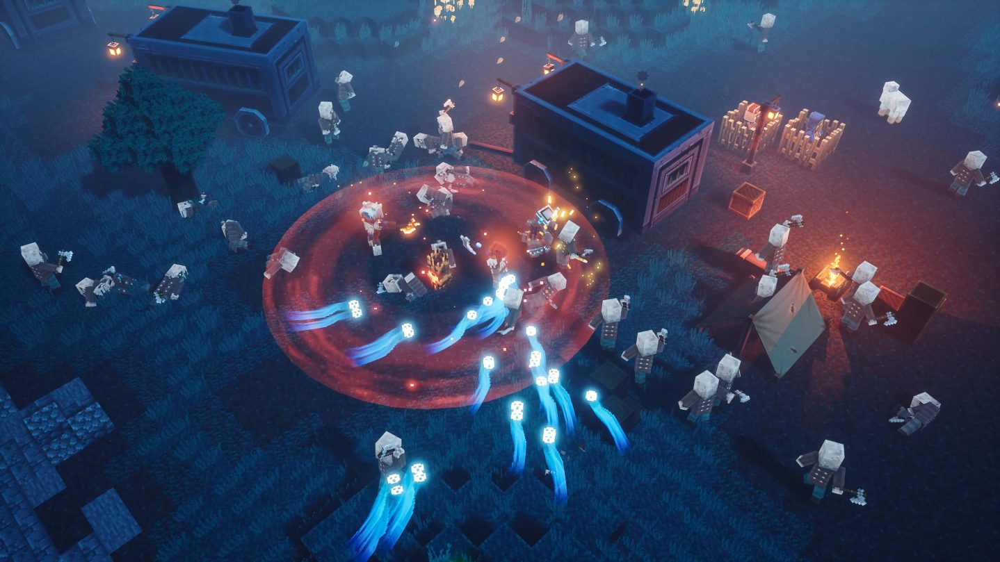 Minecraft Dungeons disponible