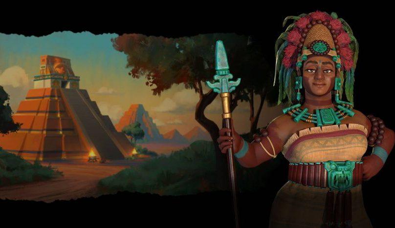 Sid Meier's Civilization VI New Frontier Señora Seis Cielo Mayas