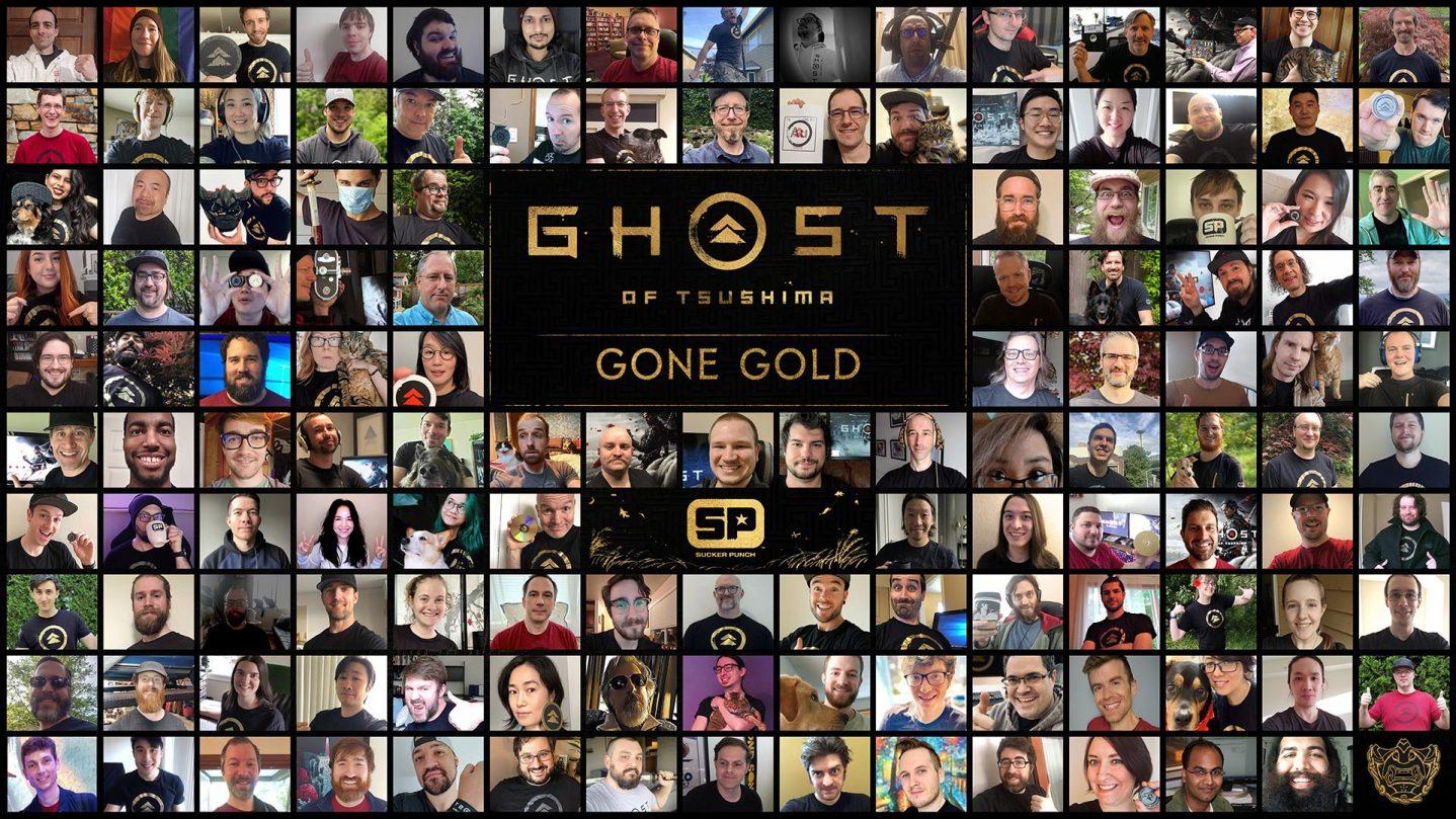 Ghost of Tsushima fase gold
