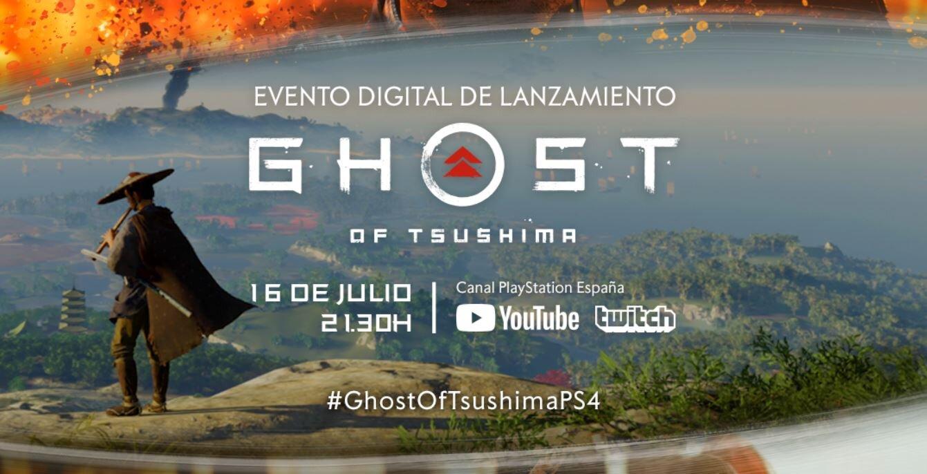 evento presentación Ghost of Tsushima