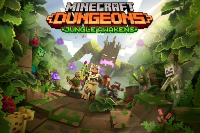 Minecraft Dungeons Jungle Awakens Art