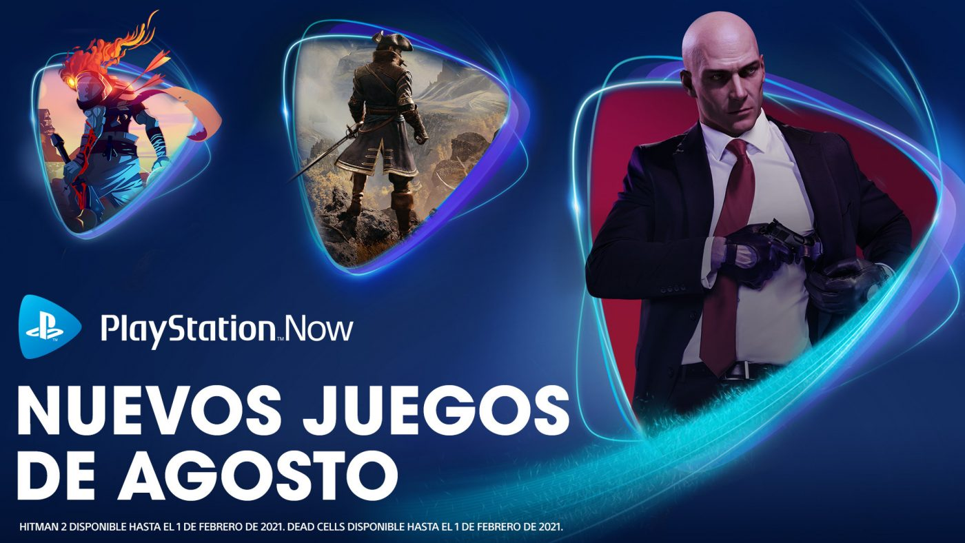 PlayStation Now en agosto 2020