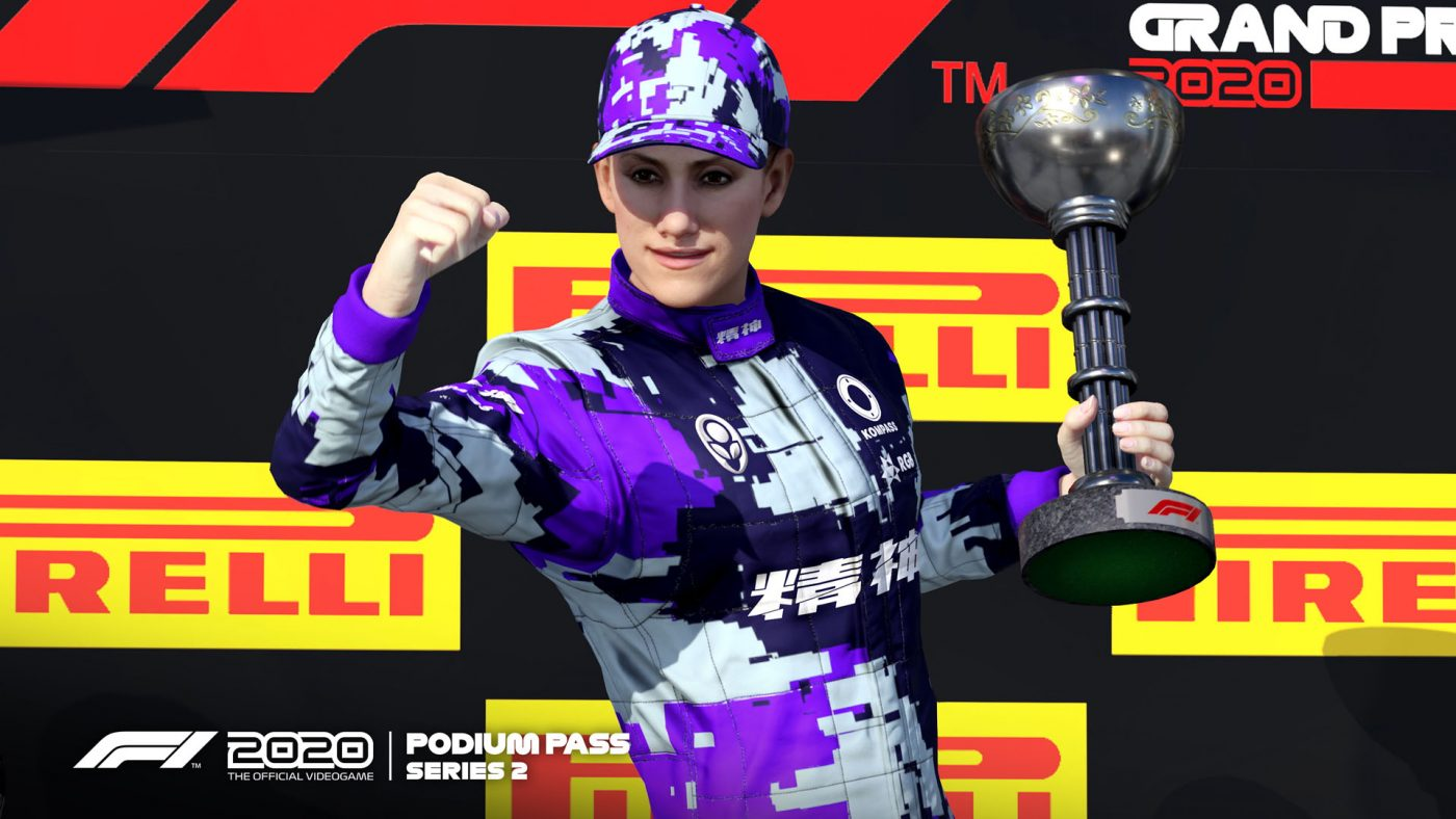 segundo pase podio F1 2020
