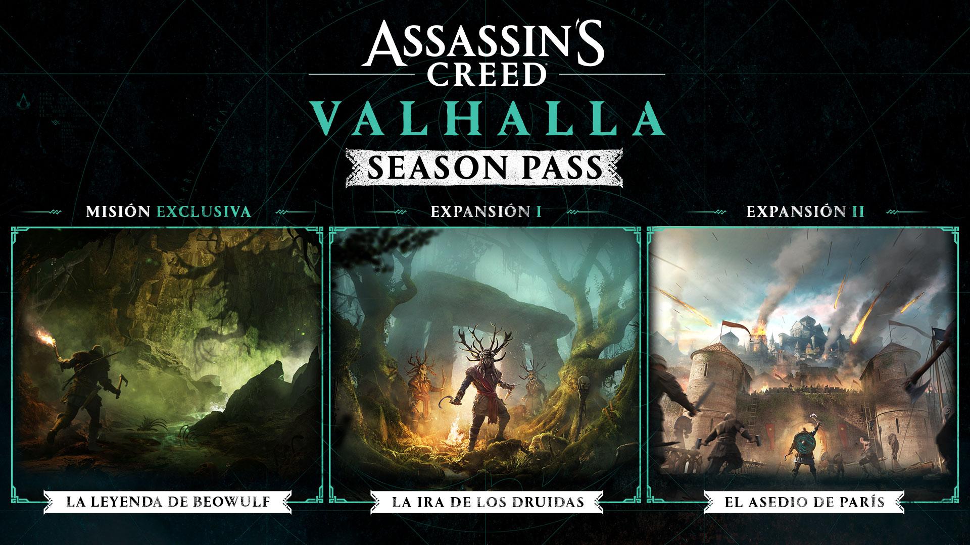 La Ira de los Druidas de Assassin's Creed Valhalla llega el 29 de abril