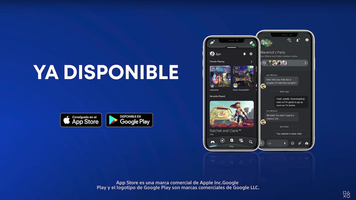 nueva PlayStation App