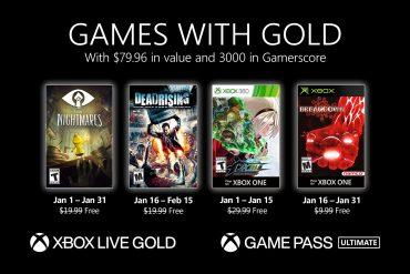 Xbox Gold de enero 2021