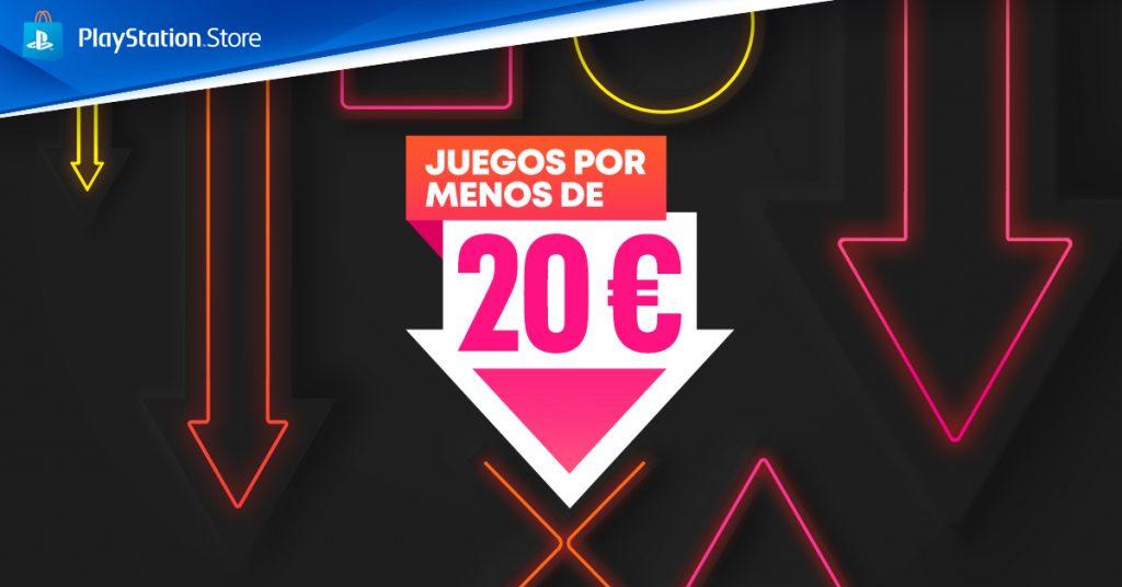 Juegos por menos de 20€ en PS Store