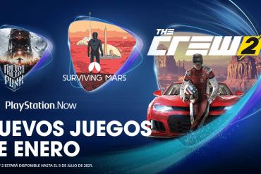 PlayStation Now en enero 2021