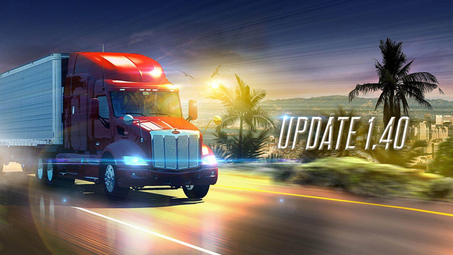 American Truck Simulator Actualizacion 1 40 1