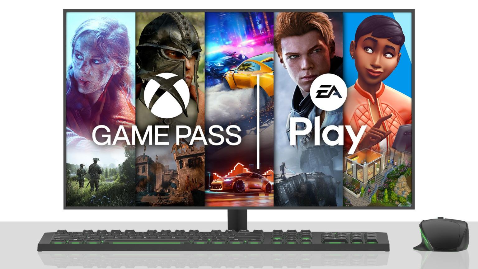 EA Play PC Xbox Game Pass
