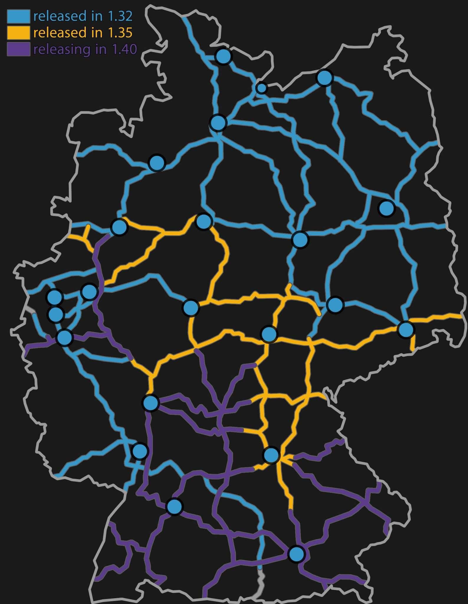 actualización 1.40 de Euro Truck Simulator 2