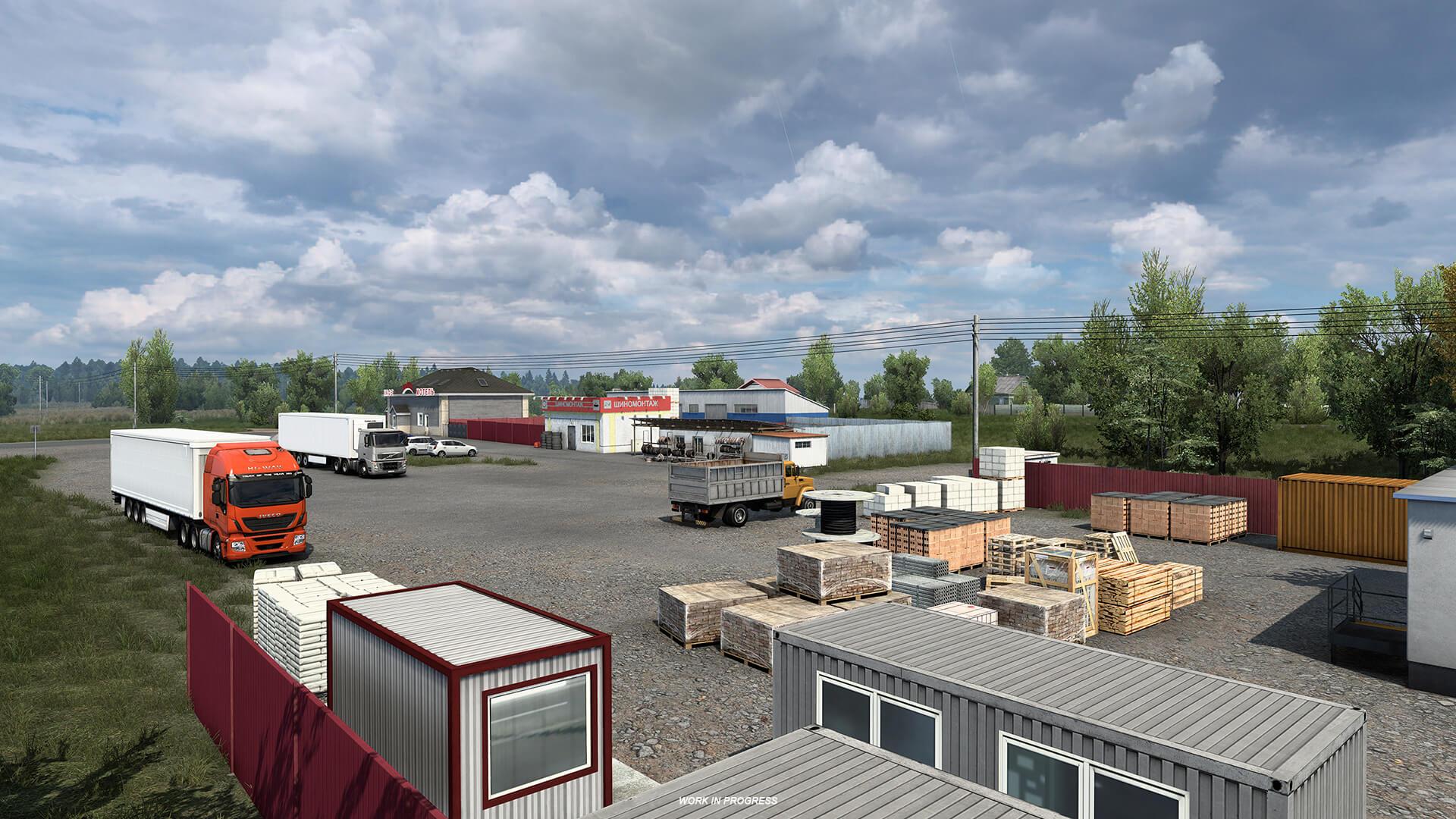 Euro Truck Simulator 2 Heart of Rusia Anuncio 10