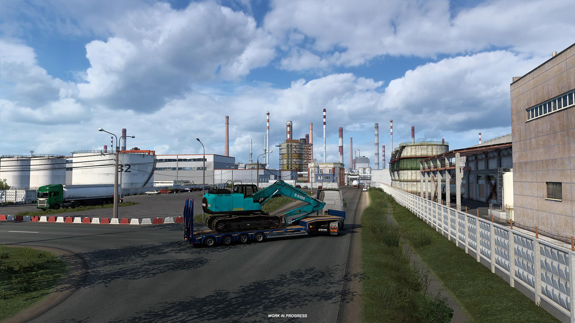 Euro Truck Simulator 2 Heart of Rusia Anuncio 11