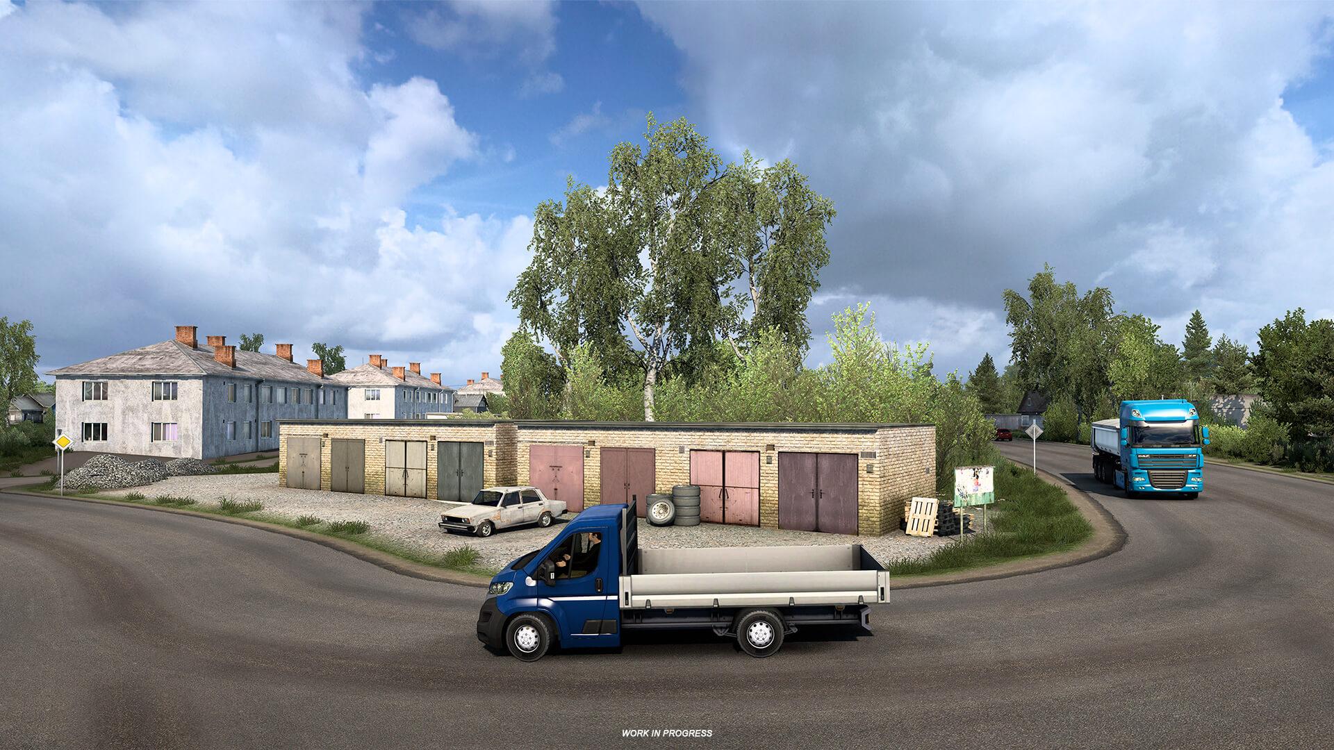 Euro Truck Simulator 2 Heart of Rusia Anuncio 12