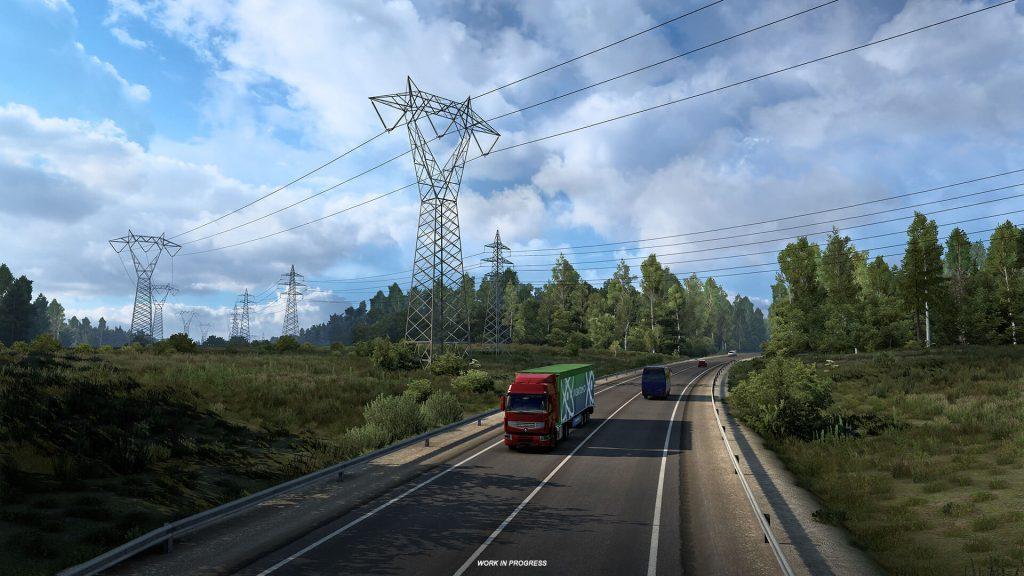 Euro Truck Simulator 2 Heart of Rusia Anuncio 2
