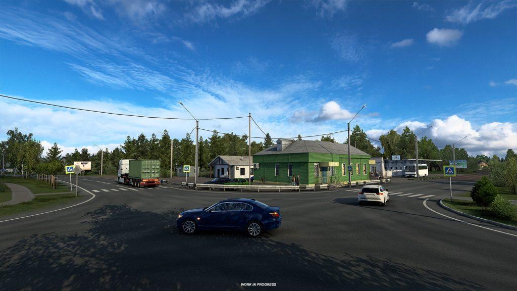 Euro Truck Simulator 2 Heart of Rusia Anuncio 3