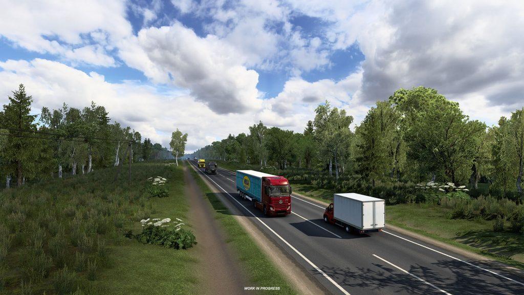 Euro Truck Simulator 2 Heart of Rusia Anuncio 6