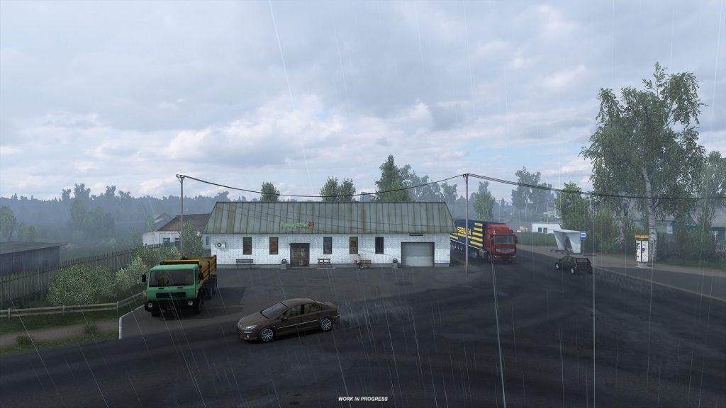 Euro Truck Simulator 2 Heart of Rusia Anuncio 9
