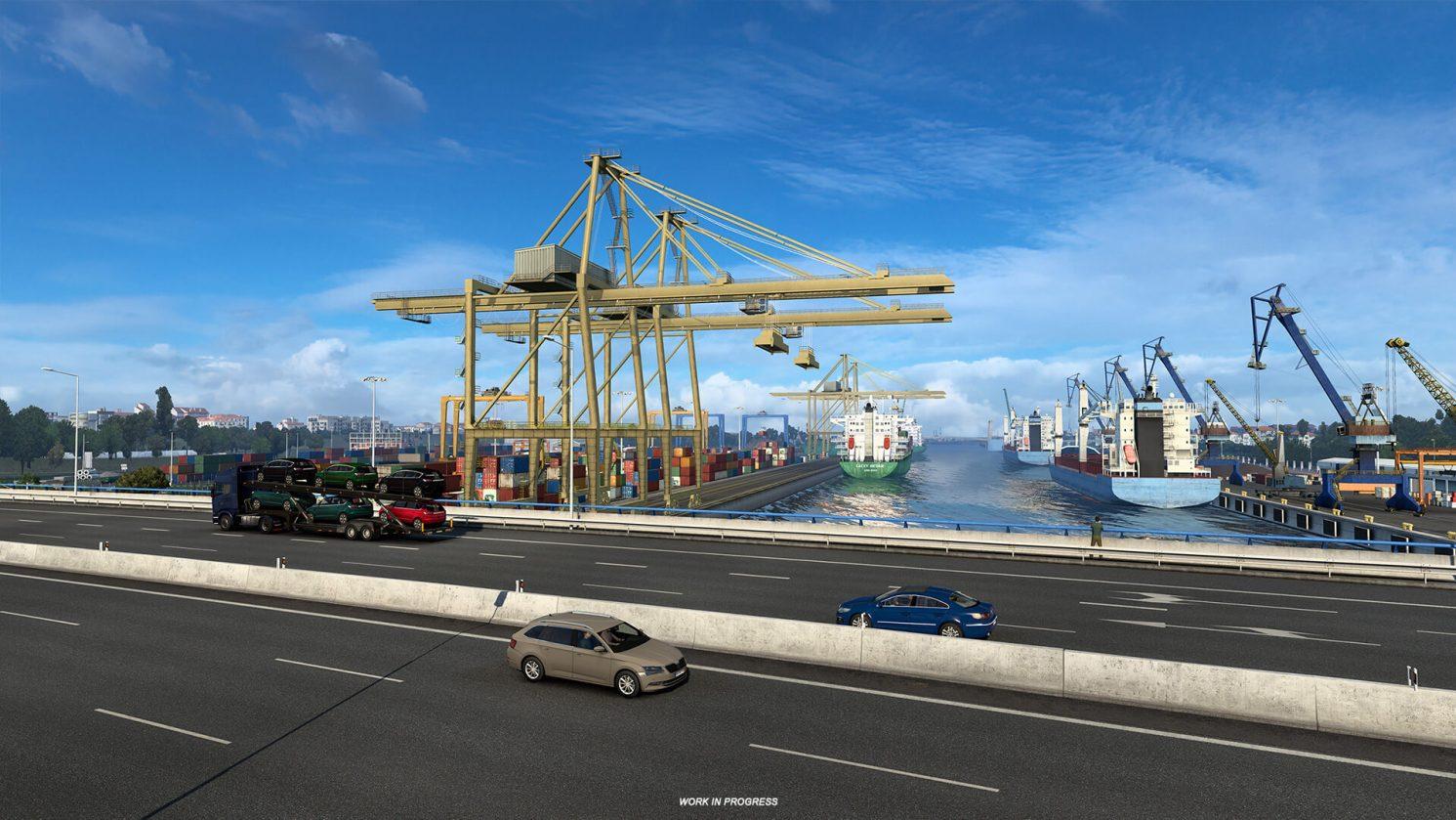 Euro Truck Simulator 2 Iberia Oporto 1