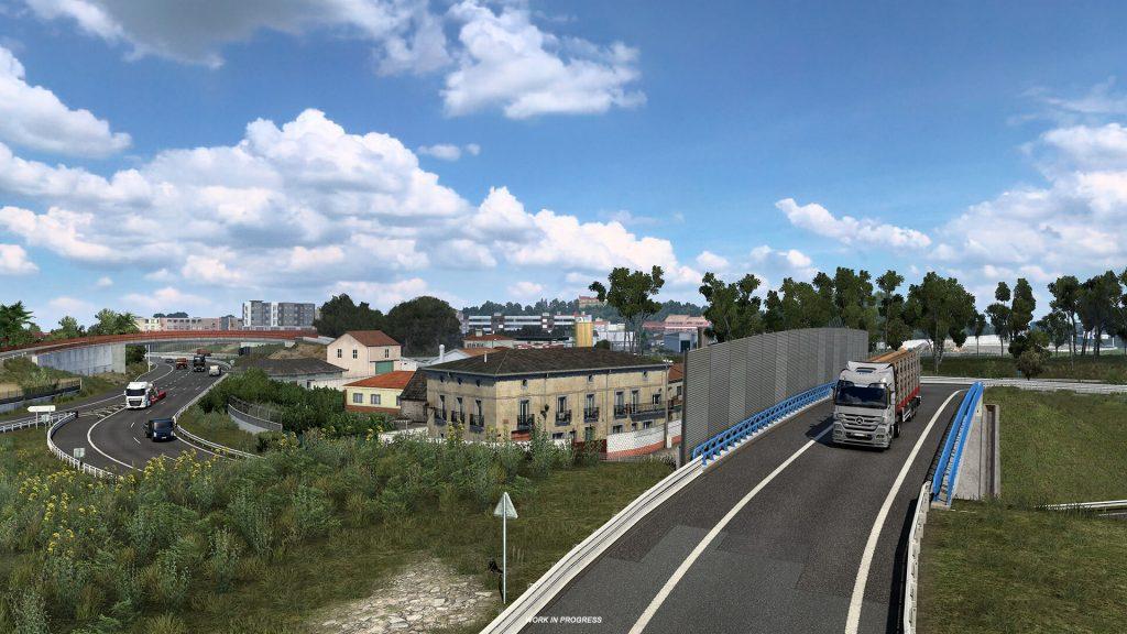 Euro Truck Simulator 2 Iberia Oporto 4