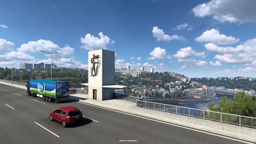 Euro Truck Simulator 2 Iberia Oporto 5