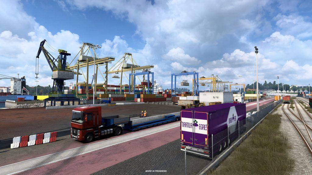 Euro Truck Simulator 2 Iberia Oporto 7