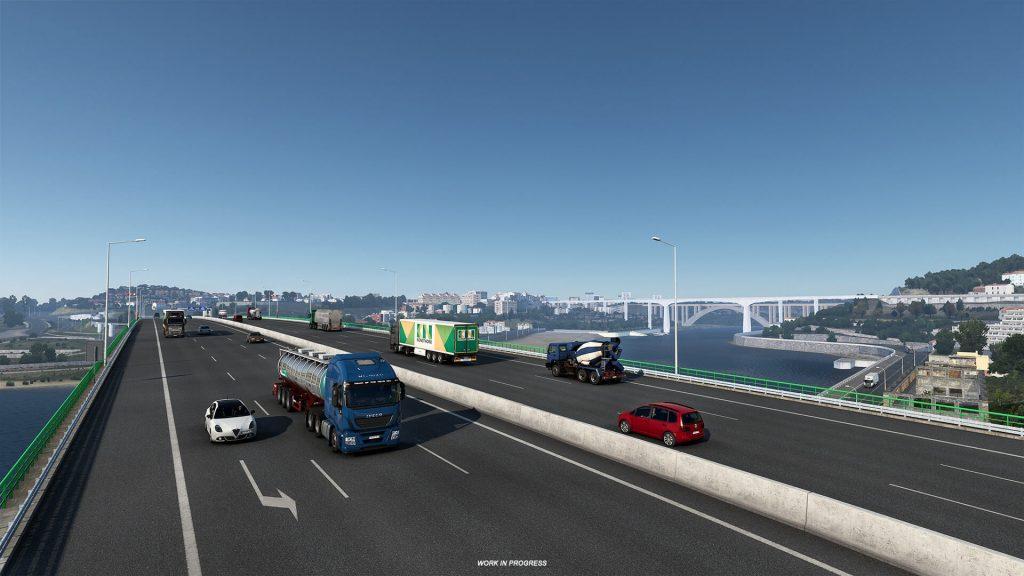 Euro Truck Simulator 2 Iberia Oporto 8