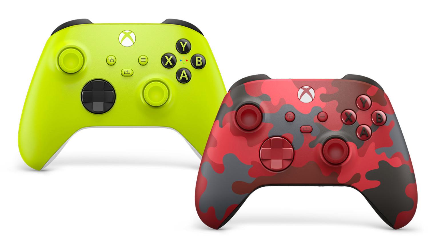 Mandos Xbox Alto voltaje y Daystrike Camo