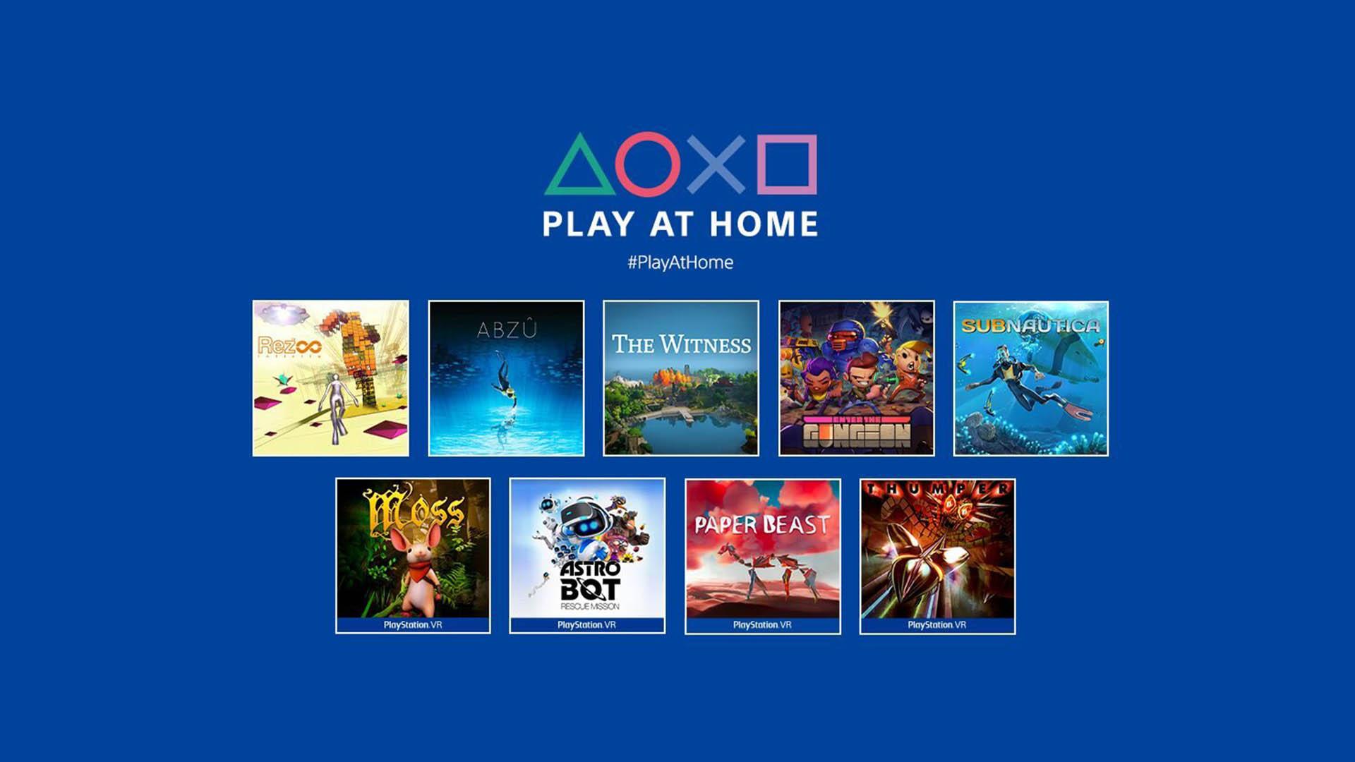 Play at Home Marzo 2021