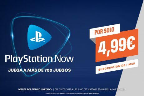 PlayStation Now Promocion 5E