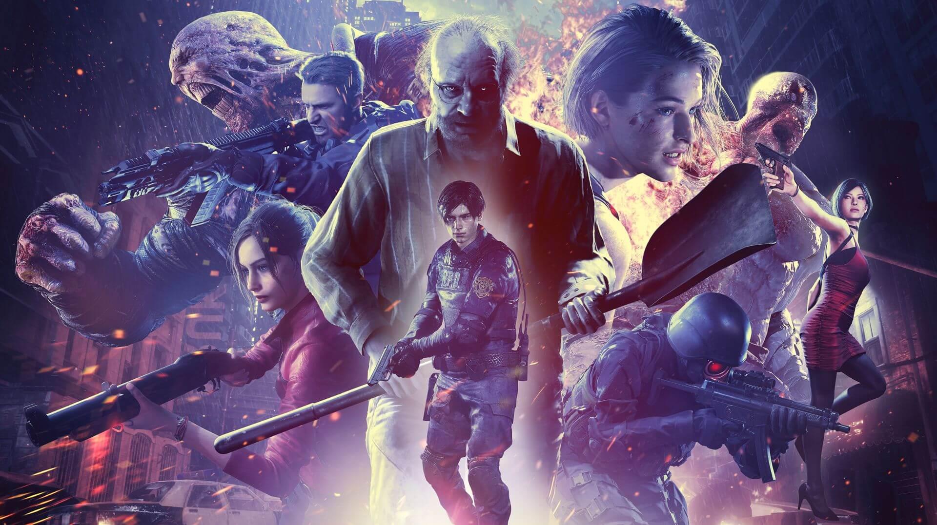Resident Evil REVERSE ART