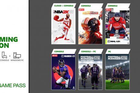 Xbox Game Pass Marzo 2021