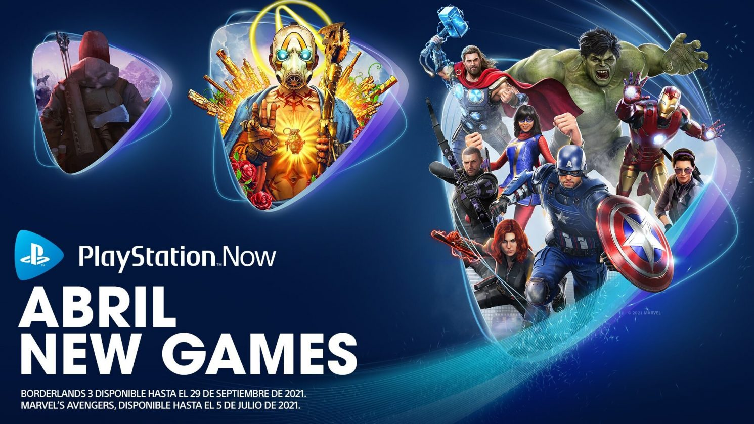 PS NOW ABRIL 2021