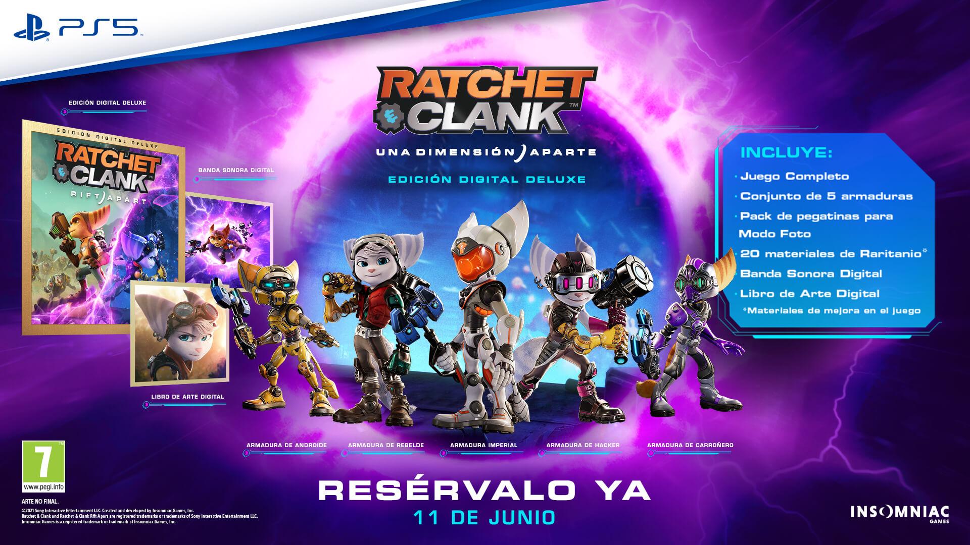 Ratchet & Clank Una Dimensión Aparte