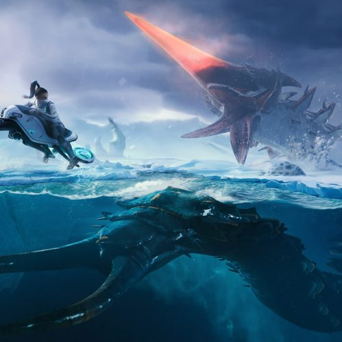 Subnautica Below Zero Art