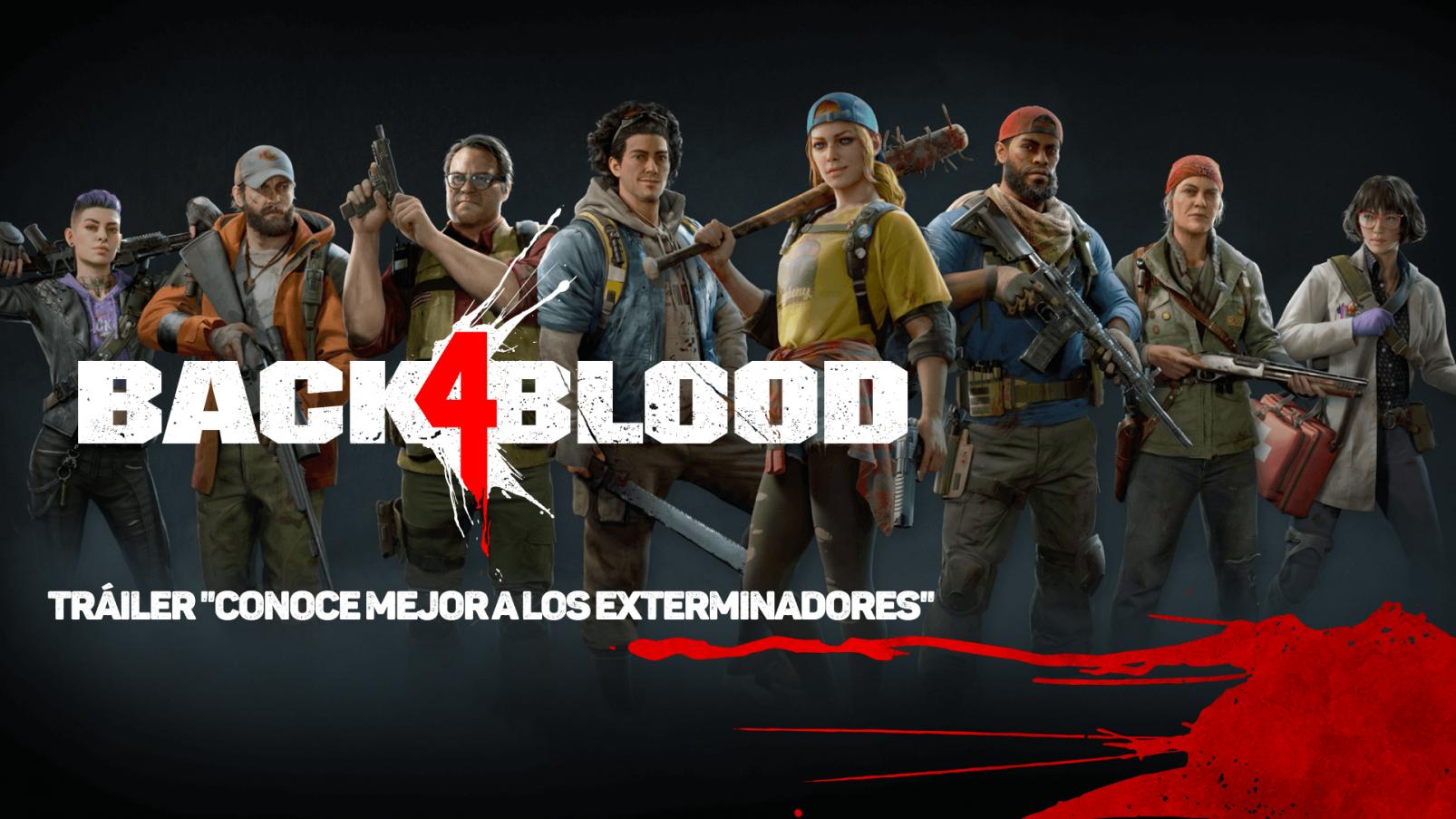 exterminadores de Back 4 Blood