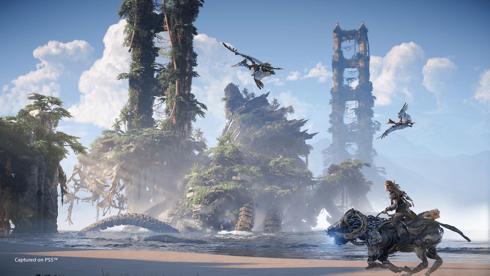 gameplay de Horizon Forbidden West
