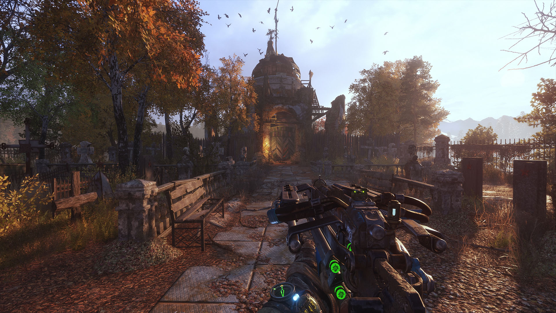 disponible Metro Exodus PC Enhanced Edition