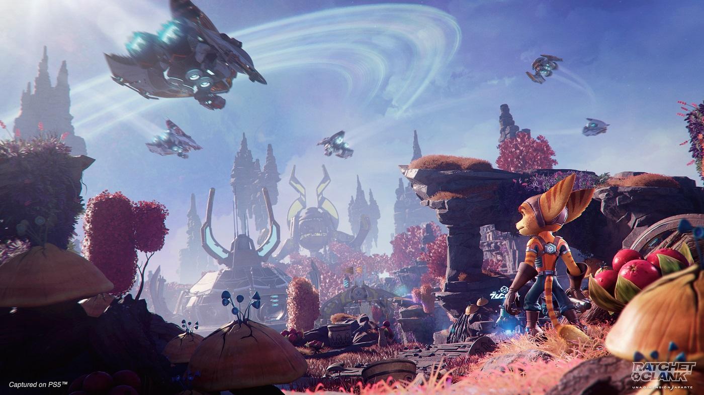 planetas de Ratchet & Clank
