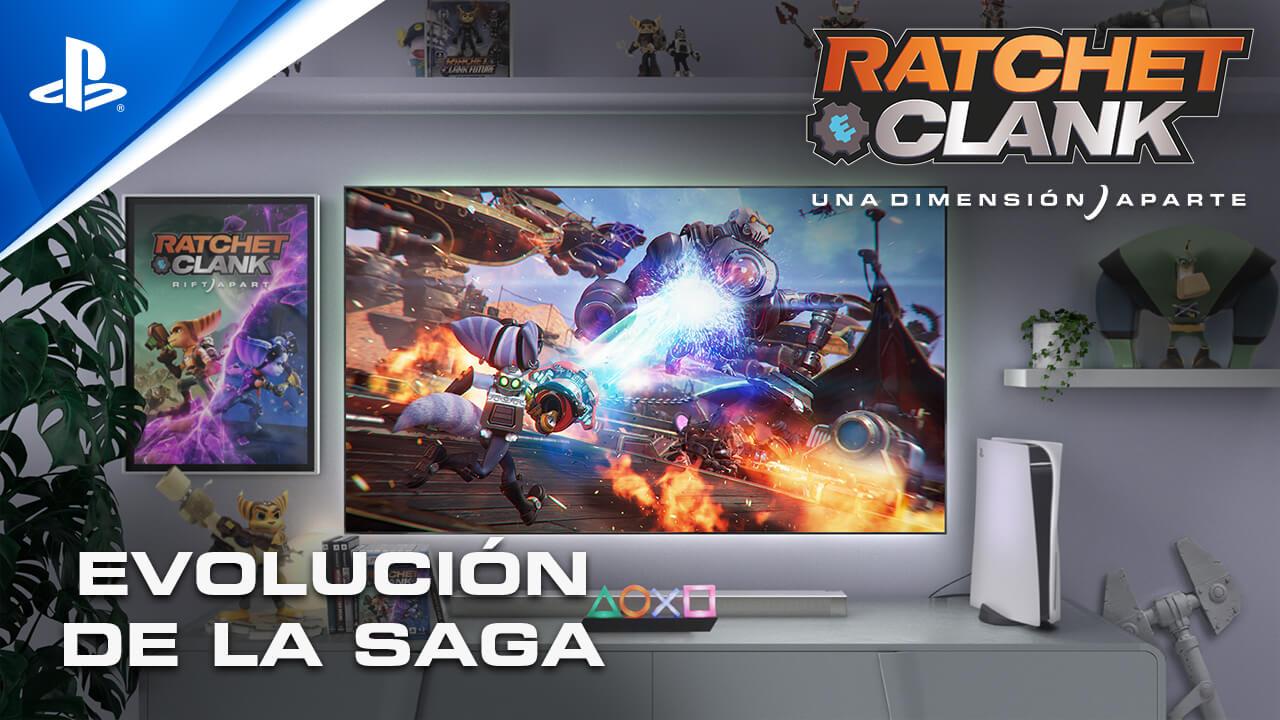 franquicia Ratchet & Clank